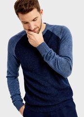 Кофта, рубашка, футболка мужская O'stin Вязаный джемпер MK4T82-64