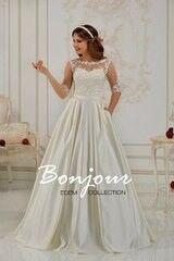 Свадебное платье напрокат А-силуэт Bonjour Платье свадебное «Elsa 1» из коллекции EDEM L'ECLAT 2016