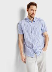 Кофта, рубашка, футболка мужская O'stin Рубашка в структурную полоску MS4S97-61