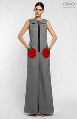 Брюки женские Pintel™ Комбинезон без рукавов из эластичного хлопка HELI