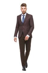 Пиджак, жакет, жилетка мужские HISTORIA Пиджак темно-бордовый в точку