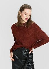 Кофта, блузка, футболка женская O'stin Джемпер из пряжи с люрексом LK1W11-R9