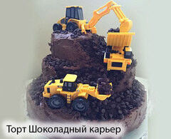 Торт Tortas Торт «Шоколадный карьер»