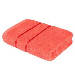 Подарок Ecotex Набор полотенец махровых «Египетский хлопок» коралловый, 2 шт