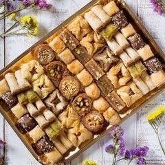 Подарок на Новый год Pate D`or Ливанские сладости ассорти «Тысяча и одна ночь», 1000 гр