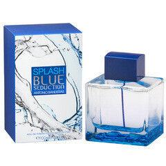 Парфюмерия Antonio Banderas Туалетная вода Splash Blue Seduction, 100 мл