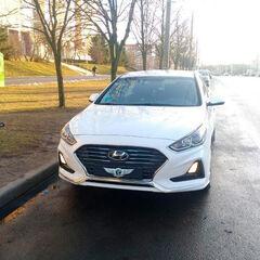 Прокат авто Прокат авто Hyundai Sonata White