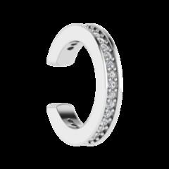 Ювелирный салон ZORKA Серьги-кафф серебряные 0310125-F