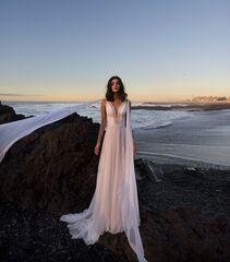 Свадебное платье напрокат А-силуэт Blammo-Biamo Свадебное платье Dream Ocean  Eisa