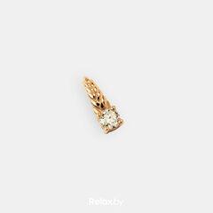 Ювелирный салон Белорусские Бриллианты Подвеска из золота со вставкой бриллиант синт. 41010006