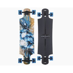Скейтборд Landyachtz Лонгборд Maple Drop Hammer Blue Jay