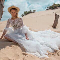 Свадебное платье напрокат А-силуэт Rara Avis Платье свадебное Wild Soul Rebeka