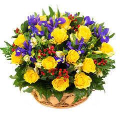 Магазин цветов Lia Корзина №56