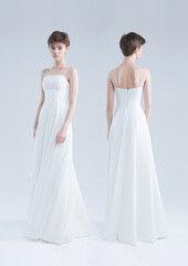 Свадебный салон UNONA Свадебное платье «Бринна белое без болеро» из коллекции JADE 2016