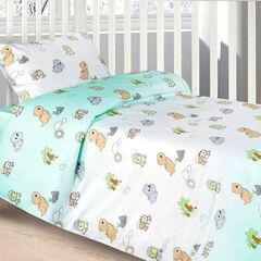 Подарок Ecotex Комплект постельного белья в детскую кроватку арт. 20