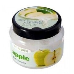 Уход за лицом The Face Shop Маска-пилинг для лица с экстрактом яблока Real Nature Apple Flesh Mask Pack