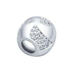 Ювелирный салон Sokolov Подвеска-шарм из серебра с фианитами 94031804