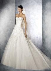 Свадебное платье напрокат А-силуэт White One (Pronovias) Свадебное платье Jasmin