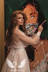 """Свадебное платье напрокат А-силуэт ALIZA свадебное платье  """"Saffi"""""""