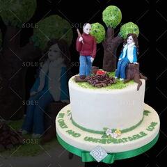 Торт Sole Праздничный торт №25
