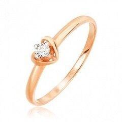 Ювелирный салон Jeweller Karat Кольцо золотое с бриллиантами арт. 3212982/9