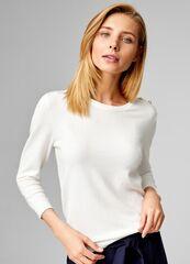 Кофта, блузка, футболка женская O'stin Базовый джемпер LK6T31-01