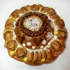 Торт Tortiki.by Каравай «Столичный» 1 кг арт. КР-4-1-1