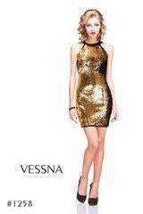 Вечернее платье Vessna Коктейльное платье арт.1258 из коллекции  VESSNA NEW