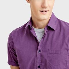 Кофта, рубашка, футболка мужская O'stin Рубашка с короткими рукавами  MS1S73-X5