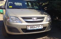 Прокат авто Аренда микроавтобуса Lada Largus 2014