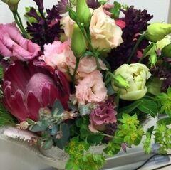 Магазин цветов Прекрасная садовница Букет с протеей