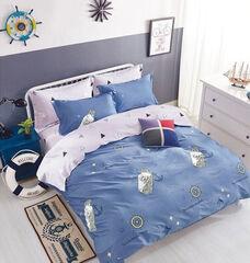 Подарок Сонный Лори Постельный комплект сатин евро  арт. ФС8171