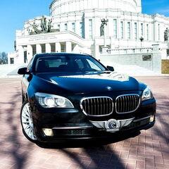 Прокат авто Прокат авто BMW F02 7 series черного цвета