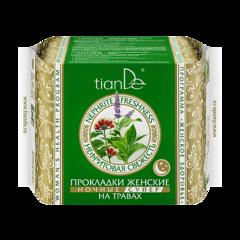 Уход за телом tianDe Прокладки женские на травах «Нефритовая свежесть» ночные супер