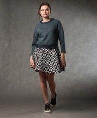 Кофта, блузка, футболка женская MISUTERI Свитшот Yoyaku MSS0117