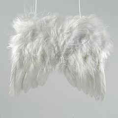Елка и украшение mb déco Украшение новогоднее «Крылышки ангела» на подвесе