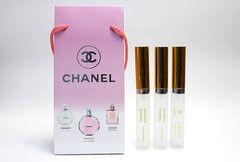 Парфюмерия Chanel Chanel Подарочный набор 3х25