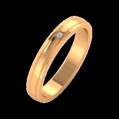 Ювелирный салон ZORKA Обручальное кольцо 1D3042