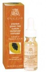 Уход за телом Cuccio Naturale Масло для кутикулы с экстрактом папайи и зеленого чая
