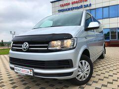 Прокат авто Аренда микроавтобуса Volkswagen Caravelle T6 2018 серебристый