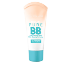 Декоративная косметика MAYBELLINE Тональный крем против несовершенств Dream Pure BB Cream 01 Light