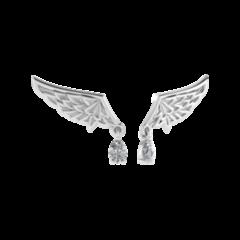 Ювелирный салон ZORKA Серьги серебряные 0310038-F