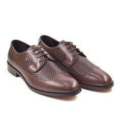 Обувь мужская HISTORIA Туфли дерби коричневые Sh.Br.73092
