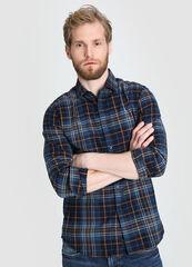 Кофта, рубашка, футболка мужская O'stin Рубашка мужская в платочную клетку MS1W14-69