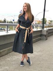Платье женское It's me! (Это Я!) Платье со стильным поясом