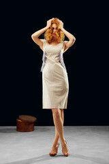 Белорусский дизайнер YANCHILINA Платье 1321