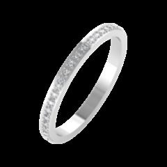 Ювелирный салон ZORKA Обручальное кольцо 1D2051/W