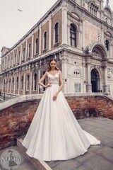 Свадебный салон Bonjour Свадебное платье «Samara» из коллекции LE DELICE 2018