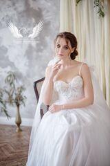 """Свадебное платье напрокат А-силуэт ALIZA свадебное платье """"Cara"""""""