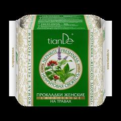 Уход за телом tianDe Прокладки женские на травах «Нефритовая свежесть» ежедневные